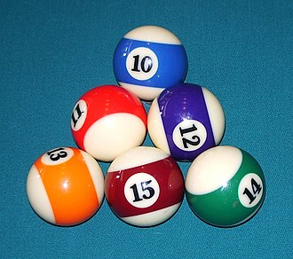 Nine-ball - Image: Six ball rack 2