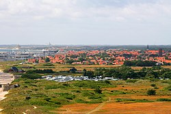 Skagen seen from the lighthouse 2009.jpg