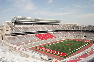 Empty Ohio Stadium