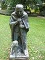 Skulptur, Schäfer mit Hund, Wettsteinpark, Riehen von Otto Roos (1887–1945) 3.jpg