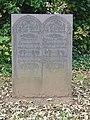 Slate gravestone in Bilborough church yard - geograph.org.uk - 606870.jpg