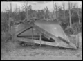 Snow plough on railway track at Raurimu, 1917 ATLIB 278771.png