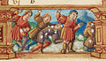 Snowball fight from Book of Hours Utopia Cod 103 detail from 12r.jpg
