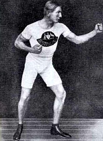 Snowy Baker - Baker prior to the 1908 Summer Olympics, in which he won a silver medal.