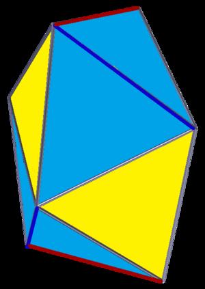 Snub disphenoid - Image: Snub digonal antiprism
