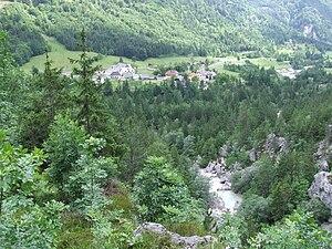Soča, Bovec - Image: Soča, Bovec 2008 06 08