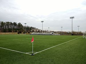 Manchester Meadows Soccer Complex - Image: Soccer field at Manchester Meadows