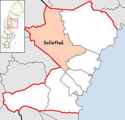 Sollefteå Municipality in Västernorrland County.png