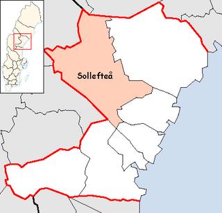 Sollefteå Municipality Municipality in Västernorrland County, Sweden