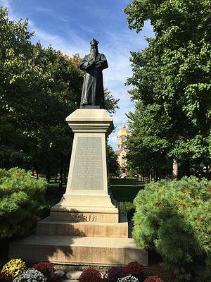 Edward Sorin - Image: Sorin Statue