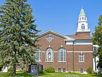 First Congregational Church of Albany - Image: South facade of First Congregational Church, Albany, NY