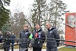 Soyuz MS-11 crew members depart Star City.jpg