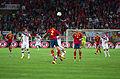 Spain - Chile - 10-09-2013 - Geneva - Arturo Vidal, Raul Albiol and Javi Garcia.jpg