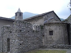 Church of Santa Croce at Sparone.