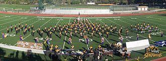 Mountain View High School (Mountain View, California) - The Spartan Marching Band