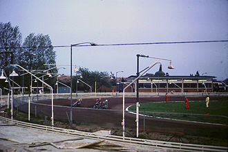 Cowley, Oxfordshire - Speedway racing at Cowley in 1980