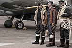 Spitfire & Pilots - Flying Legends (6033451354).jpg