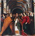 Sposalizio della Vergine (Francesco Prata da Caravaggio) - Chiesa di S. Francesco - Brescia (ph Luca Giarelli).JPG