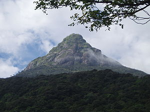 Adam's Peak - Adam's Peak from a distance