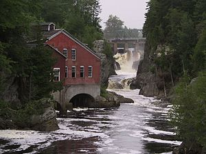 St. George, New Brunswick - Magaguadavic River gorge in St. George