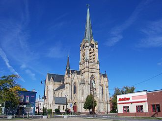 Saint Michael's Church (Rochester, New York) - Image: St. Michael's Church, Rochester, NY