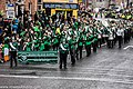 St. Patrick's Day Parade (2013) In Dublin - Brewster High School Marching Bears, New York, USA (8565220407).jpg