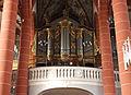 St. Wendel - Wendalinusbasilika Innen Orgelprospekt.JPG