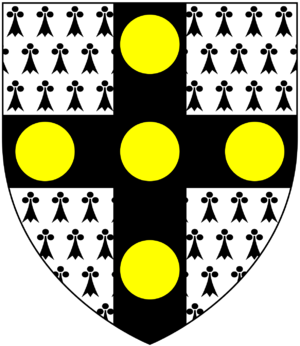 Sir William Molesworth, 8th Baronet - Image: St Aubyn (Molesworth St Aubyn Baronets) Arms