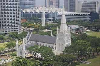 St Andrew's Cathedral, Singapore - Image: St Andrew's Cathedral, Singapore 2012