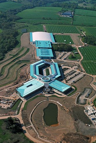 St George's Park National Football Centre - Image: St Georges Park Aerial May 2012