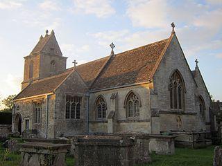 South Wraxall village in United Kingdom