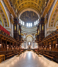 St Paul's Cathedral Choir looking west, London, UK - Diliff.jpg