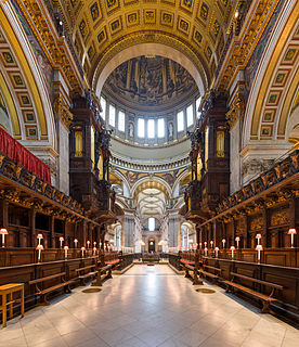 Magnificat and Nunc dimittis for St Pauls Cathedral