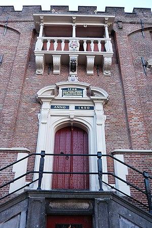 Salomon de Bray - Image: Stadhuis Haarlem bordes met roepstoel ontworpen door Salomon de Bray 1630