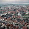 Stadsgezicht, Overzicht vanaf de toren van de Hervormde Kerk - Brielle - 20372544 - RCE.jpg