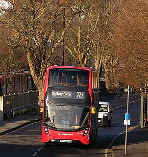 London Buses route 277