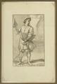 Stampa calcografica raffigurante il venditore di formaggio parmigiano - Musei del cibo - Parmigiano - 154.tif