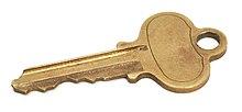 Llave wikipedia la enciclopedia libre for Tipos de llaves de puertas