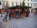 Staré Město, Malé náměstí, ohrada s ovcemi.jpg