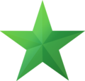 This is a green star for you