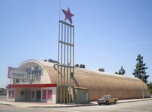 La Puente, California - La Puente's Star Theater in May 2008