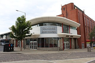 Gateshead Interchange Tyne and Wear Metro station in Gateshead