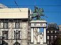 Statue de Vercingétorix, Préfecture du Puy-de-Dôme et Théâtre de Clermont-Ferrand en travaux.jpg