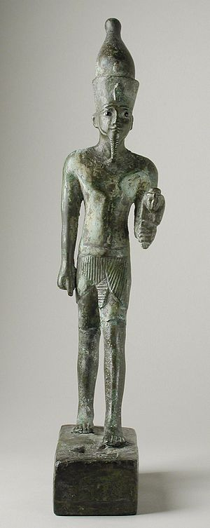 Twenty-ninth Dynasty of Egypt - Image: Statue of 29th Dynasty King Psamuthis LACMA M.71.73.57