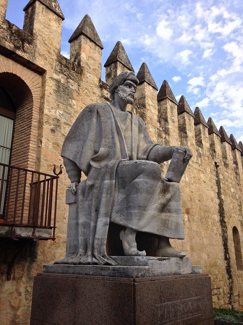 Statue of Averroes in Córdoba, Spain