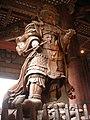 Statue of Koumokuten, Todai-ji - panoramio.jpg