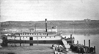 Regulator (sternwheeler) - Image: Steamboat Regulator ca 1892