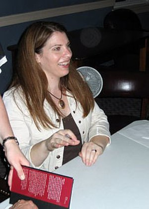 Stephenie Meyer - Meyer on her book tour for Eclipse in 2007