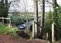 Steps to the Railway Walk, Himley, Staffordshire - geograph.org.uk - 643050.jpg