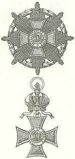 Ster en Grootkruis Leopoldsorde Oostenrijk